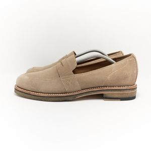 Ariat Two24 Melrose Tan Suede Penny Loafers